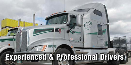 Experienced and Professional Drivers