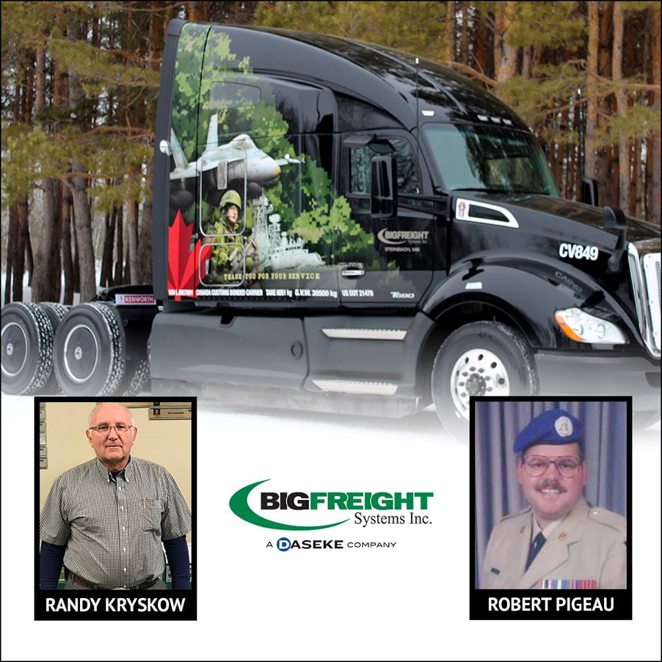 Big Freight Professional Drivers